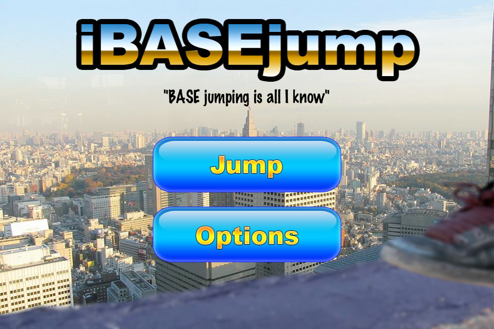 Screenshot iBASEjump